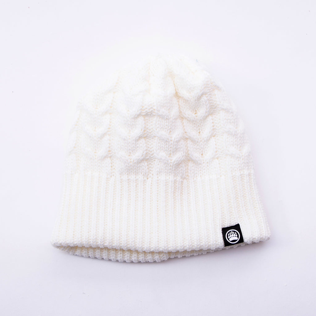 Muskoka Bear Wear – White Knit