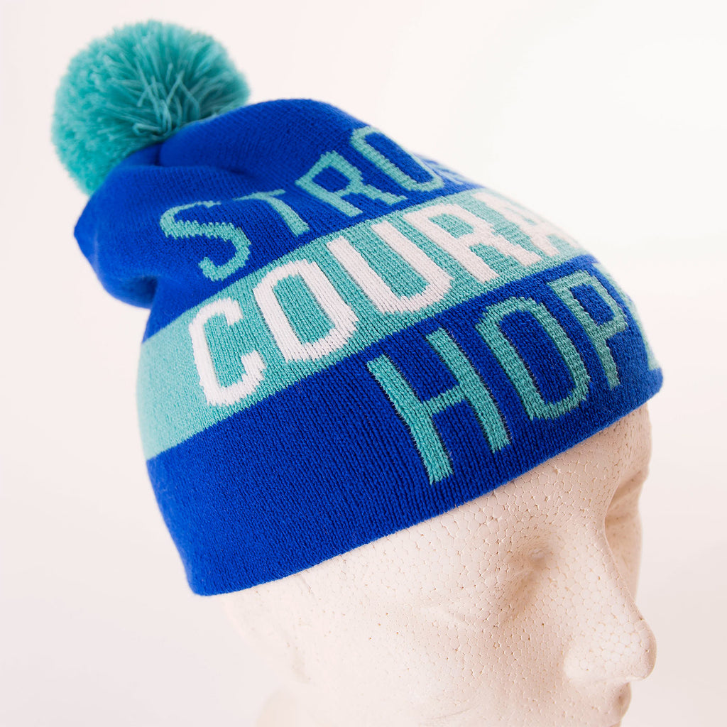Muskoka Bear Wear - Youth SickKids Toque (Brave, Courage and Hope)