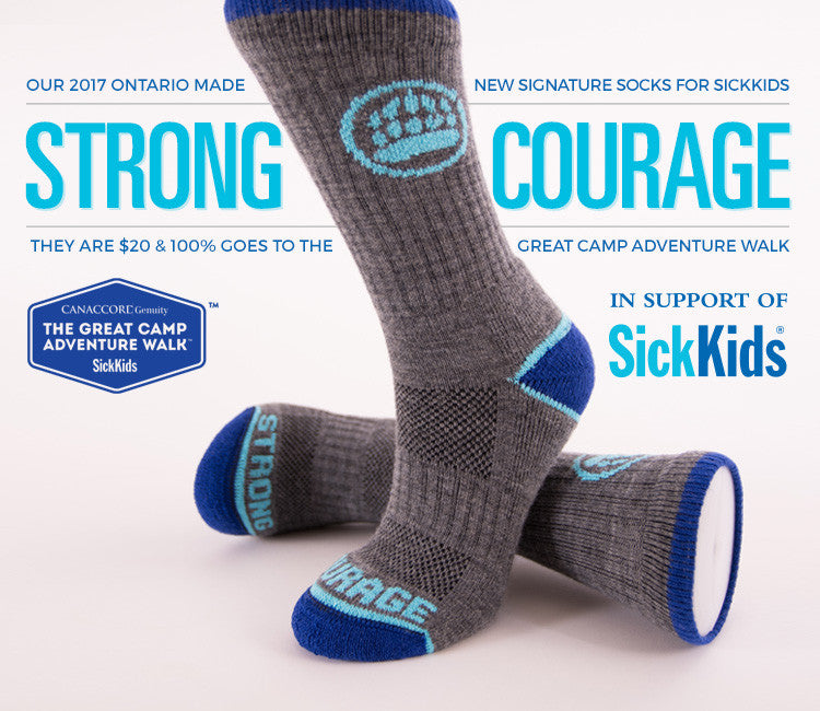 Signature Socks for SickKids