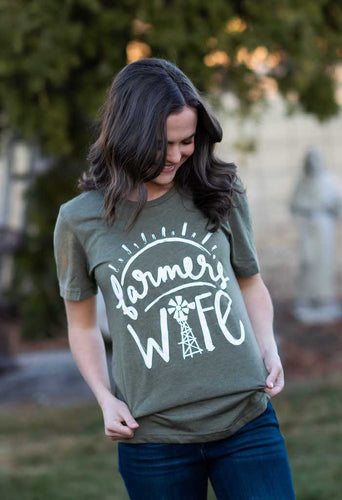 Farmers Wife Graphic Tee