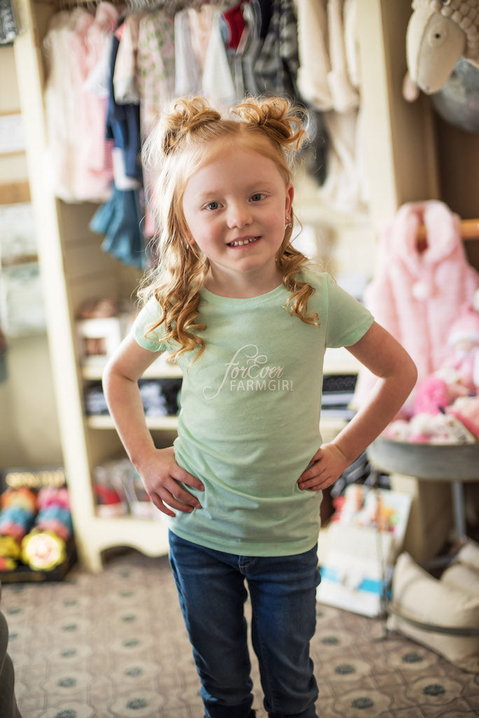 ForEver Farmgirl Little Girls Tee