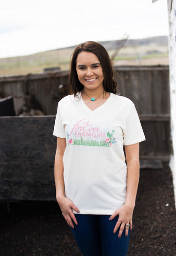 Floral ForEver Farmgirl Tee