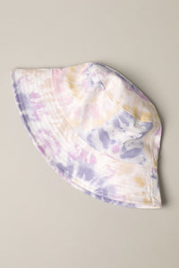 Tie Dye Bucket Hat - Purple