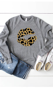 Hot Lips Crewneck