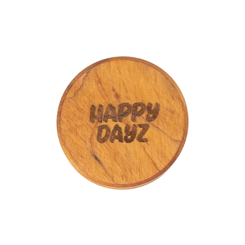 Happy Dayz Natural Edge Large Wooden Grinder