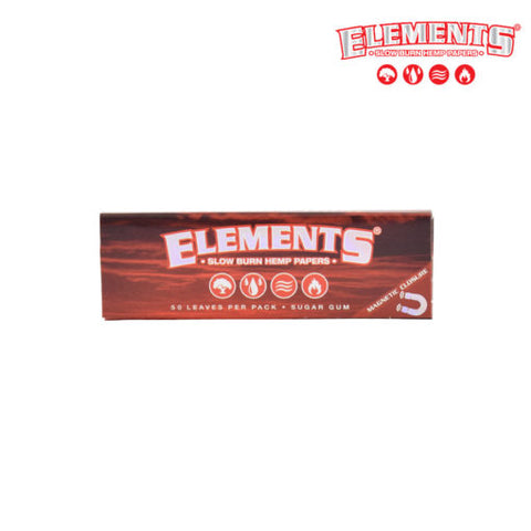 Elements Papers - 1 1/4 Slow Burn (Red)