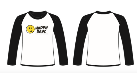 Happy Dayz Baseball Shirt