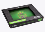 Syndicate Glass Rolling Tray Green Hamsa