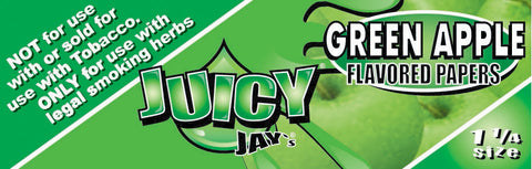 Green Apple Juicy Jay's Papers 1 1/4