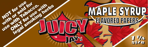 Maple Syrup Juicy Jay's Papers 1 1/4