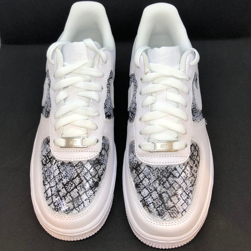 'The Natalie' Snake Print Nike AF1 (Women's)