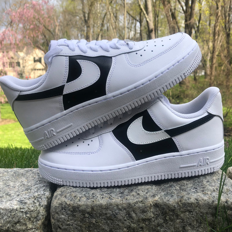 'Color Block' Nike AF1 (Toddler)