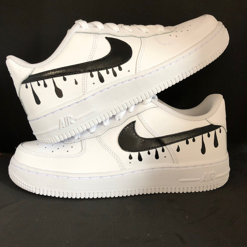 'The Meg' Drip Swoosh Nike AF1 (Women's)