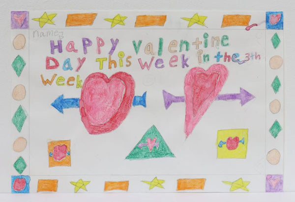 Happy Valentine Day This Week in the 3th Week