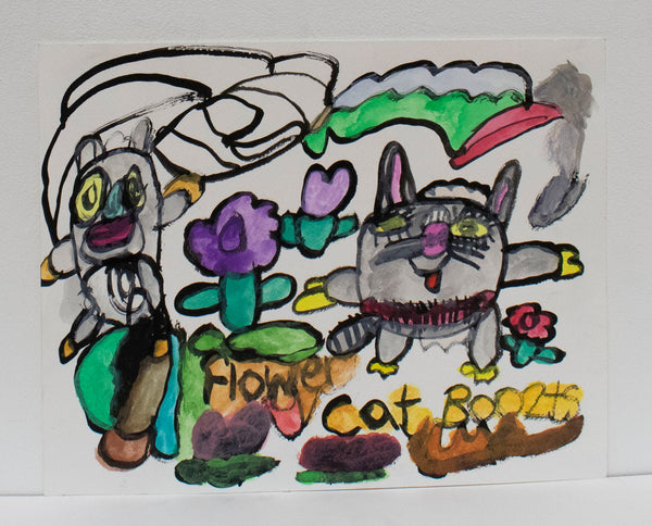 Flower Cat Boo2ts