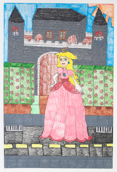 Princess Peach And her Castle.