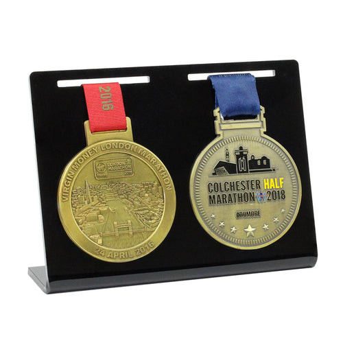 Double Medal Display- Main Image
