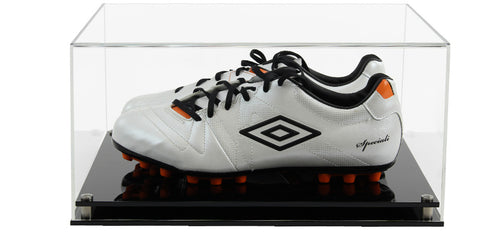 Acrylic Pair of Football Boots Display Case- Choice of Bases