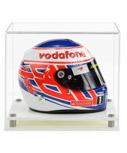 Acrylic 1:2 Scale F1 Helmet Model Display Case- Choice of Bases