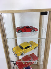 Desktop Lockable Oak and Acrylic Display Case