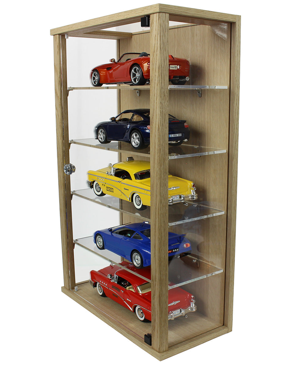 Lockable Display Case for 1:18 Scale Model Cars- F1 or Standard