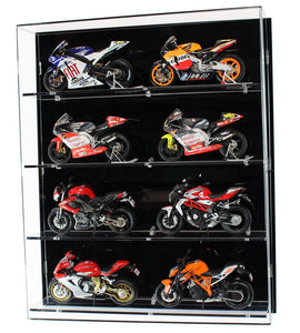 1:12 Scale Model Motorbike Wall Display Case