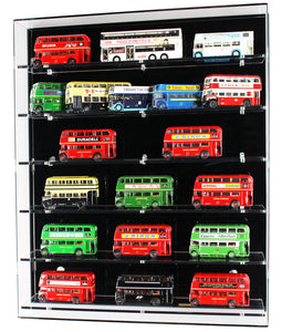 1:76 Scale Model Bus Wall Display Case