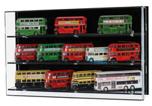 Acrylic Wall Display Case for 1:76 Scale Model Buses
