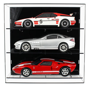 Acrylic Wall Display Case for 1:12 Scale Cars
