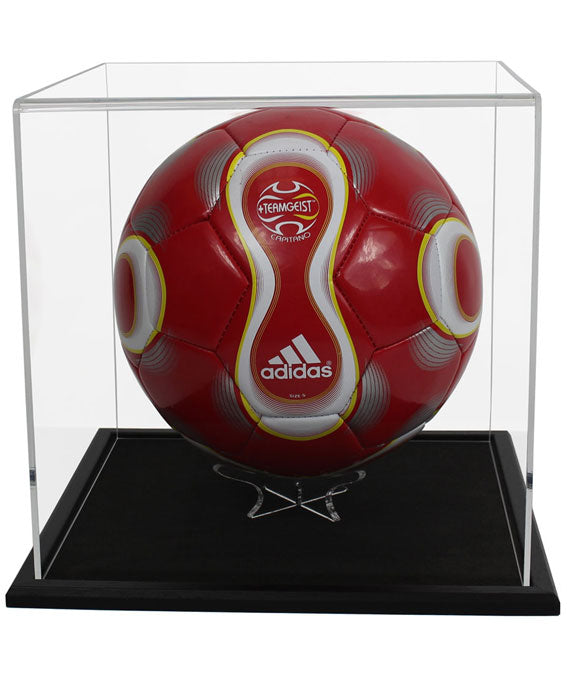 Acrylic Football Display Case- Choice of Bases