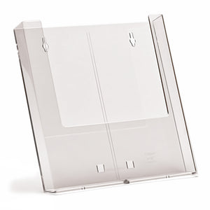 Box of 44 Wall Mounted A4 Clear Plastic Leaflet Holders