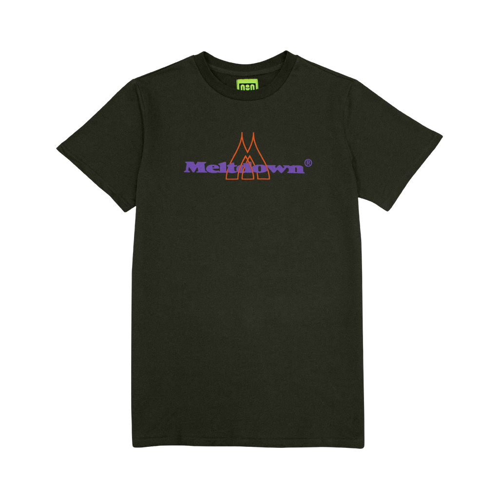 BREAK BEAM TEE - OLIVE GREEN