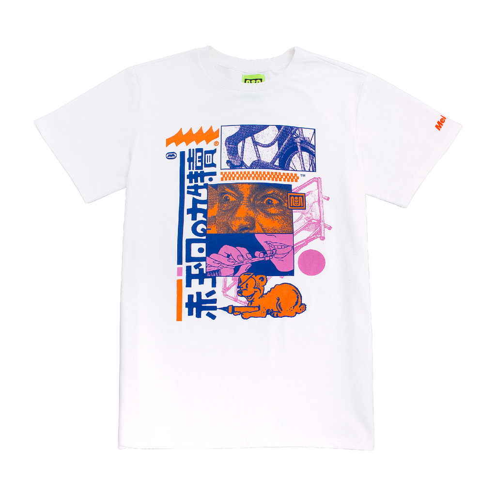 EXERCISE TEE - WHITE
