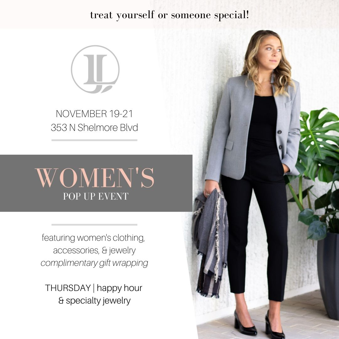 womens pop up event