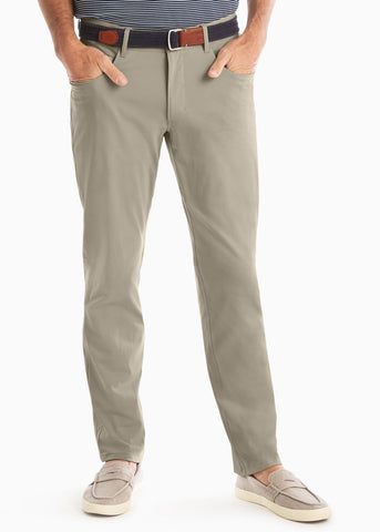 Johnnie-O Cross Country Pant | Light Khaki - Liam John USA