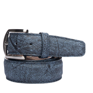 LEN Belt - South African Buffalo Blue - Liam John USA