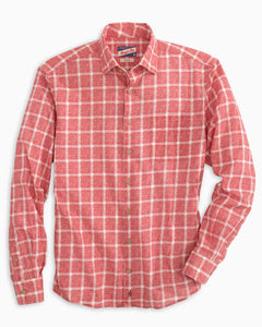 Johnnie O Alto Button Down - Malibu Red - Liam John USA