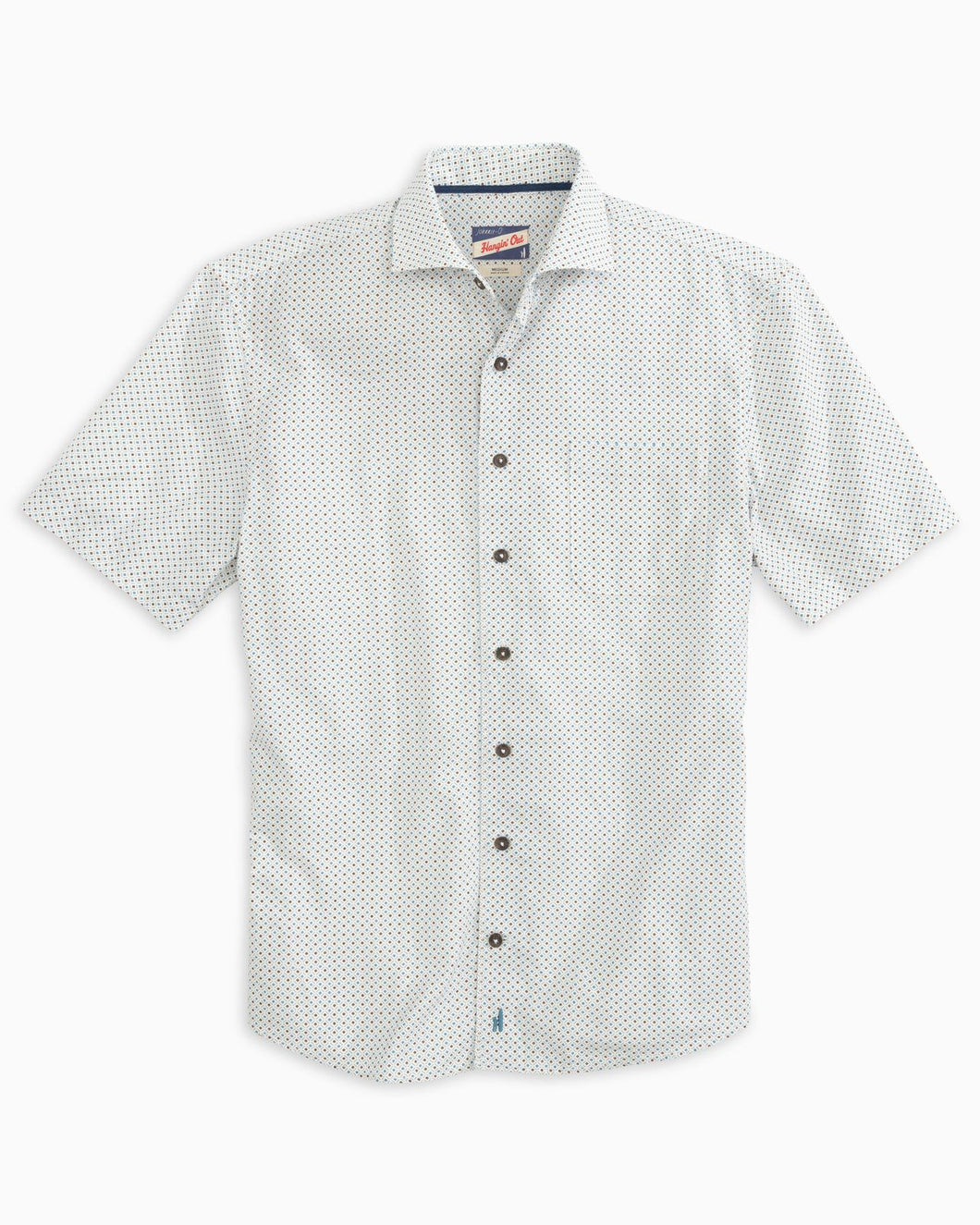 Johnnie O - Depew SS Button down - White - Liam John USA