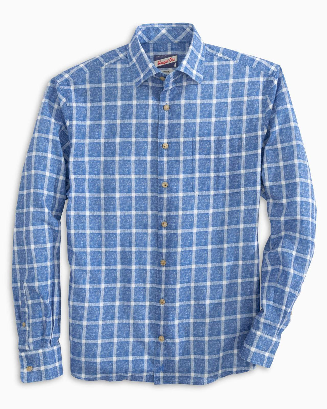 Johnnie O Alto Button Down - Laguna Blue - Liam John USA