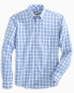 Johnnie O - Shelley Button Down - Laguna Blue - Liam John USA