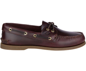 Sperry Men's Authentic Original Leather Boat Shoe (Medium) - Brandy`s shoes