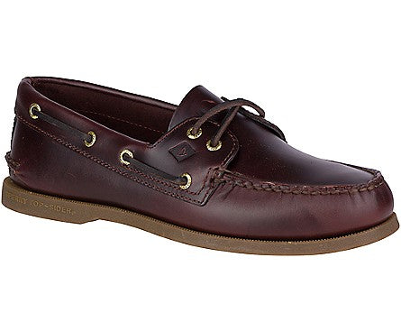 Men's Authentic Original 2 Brown -Eye Boat Shoe