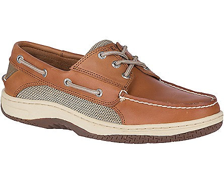 Men's Billfish 3-Eye Boat Shoe Dark Tan - Brandy`s shoes