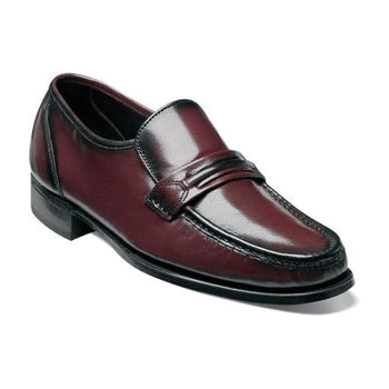 COMO MOC TOE STRAP LOAFER - Brandy`s shoes