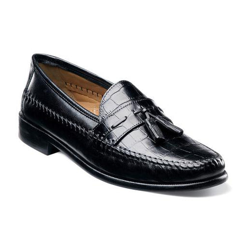 PISA MOC TOE TASSEL LOAFER - Brandy`s shoes