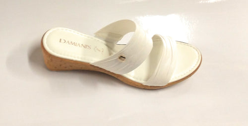 Women's Italian Shoemakers 179 White Sandal