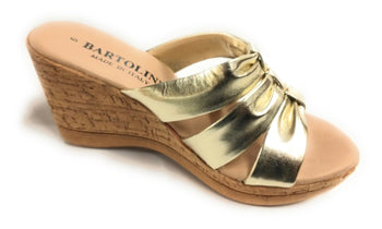 Women's Bartolini 62772 Platinum Sandals