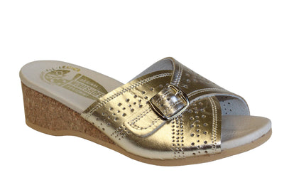 Women's Worishofer 251 Wedge Sandal - Brandy`s shoes