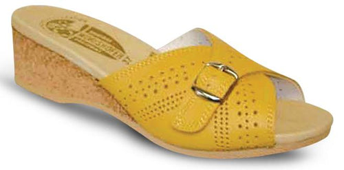 Women's Worishofer 251 Yellow Glass Sandals