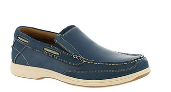 Florsheim Men's Lakeside Slip-On Boat Shoe - Brandy`s shoes